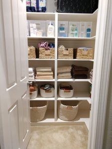 before and after home organization